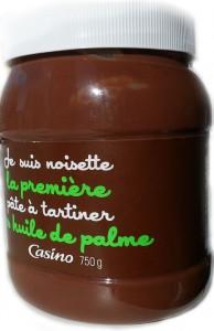 шоколадная паста без пальмы